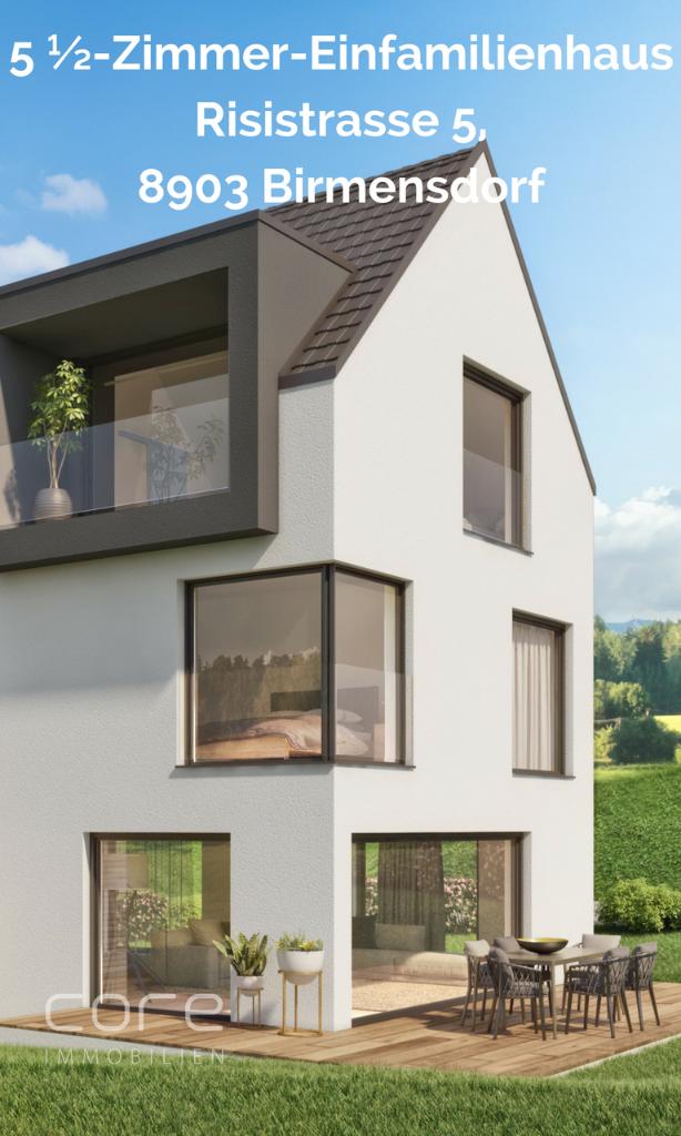 Einfamilenhaus Birmensdorf kaufen, Immobilien Birmensdorf kaufen, Core Immobilien